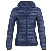 Oblečenie Ženy Vyteplené bundy Emporio Armani EA7 TRAIN CORE LADY LT DOWN JACKET Námornícka modrá