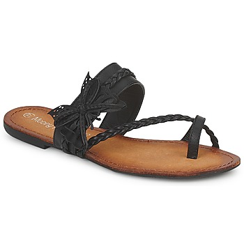 Topánky Ženy Žabky Moony Mood LILIANA Čierna