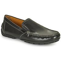 Topánky Muži Mokasíny Geox MONET čierna
