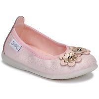 Topánky Dievčatá Balerínky a babies Citrouille et Compagnie JATAMAL Ružová