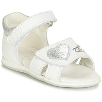 Topánky Dievčatá Sandále Citrouille et Compagnie JAFALGA Biela