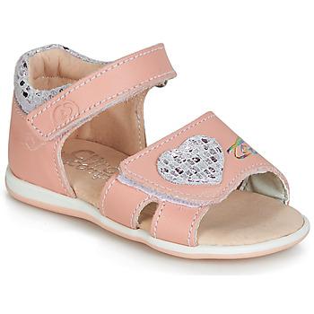 Topánky Dievčatá Sandále Citrouille et Compagnie JAFALGA Ružová