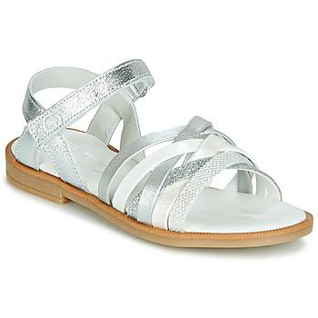 Topánky Dievčatá Sandále Citrouille et Compagnie JARILOU Strieborná
