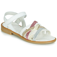 Topánky Dievčatá Sandále Citrouille et Compagnie JARILOU Biela