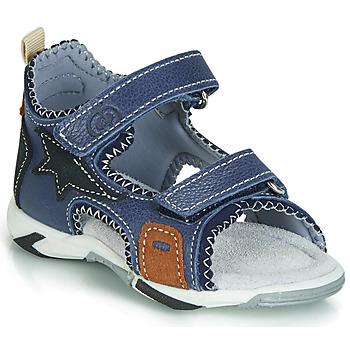 Topánky Chlapci Sandále Citrouille et Compagnie JATILEME Modrá