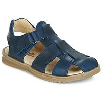 Topánky Chlapci Sandále Citrouille et Compagnie JALIDOU Modrá