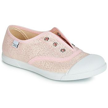 Topánky Dievčatá Nízke tenisky Citrouille et Compagnie RIVIALELLE Ružová / Metalická