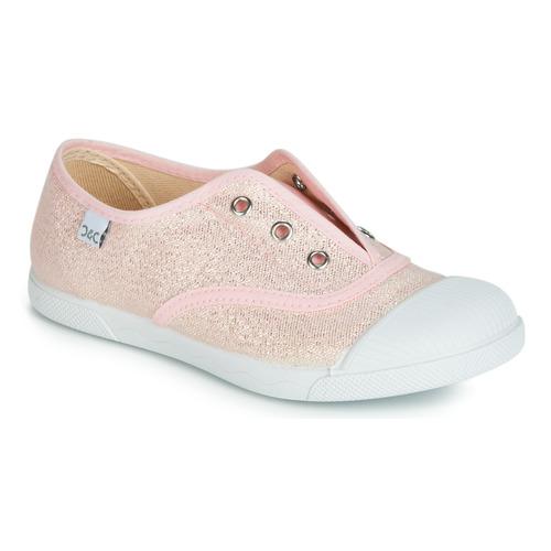 Topánky Dievčatá Nízke tenisky Citrouille et Compagnie JANOLIRE Ružová / Metalická