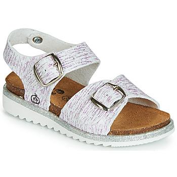 Topánky Dievčatá Sandále Citrouille et Compagnie JANETTA Biela / Fialová