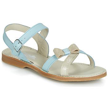 Topánky Dievčatá Sandále Citrouille et Compagnie JISCOTTE Modrá