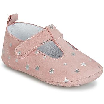 Topánky Dievčatá Papuče Citrouille et Compagnie JARI Ružová