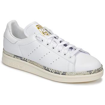 Topánky Ženy Nízke tenisky adidas Originals STAN SMITH NEW BOLD Biela