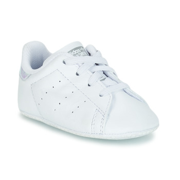 Topánky Dievčatá Nízke tenisky adidas Originals STAN SMITH CRIB Biela