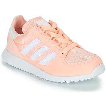 Topánky Dievčatá Nízke tenisky adidas Originals OREGON Ružová