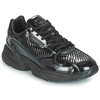 Topánky Ženy Nízke tenisky adidas Originals FALCON W Čierna / Trblietkavá