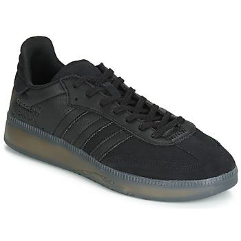 Topánky Muži Nízke tenisky adidas Originals SAMBA RM Čierna