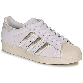Topánky Ženy Nízke tenisky adidas Originals SUPERSTAR 80s W Biela / Béžová