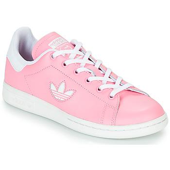 Topánky Dievčatá Nízke tenisky adidas Originals STAN SMITH J Ružová