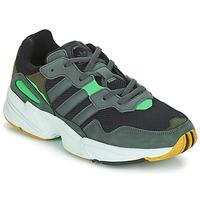 Topánky Muži Nízke tenisky adidas Originals YUNG 96 Šedá / Zelená