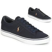 Topánky Muži Nízke tenisky Polo Ralph Lauren SAYER Námornícka modrá