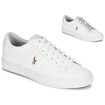 Topánky Muži Nízke tenisky Polo Ralph Lauren SAYER Biela