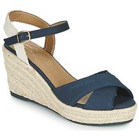 Topánky Ženy Sandále Tom Tailor 6990101-NAVY Námornícka modrá