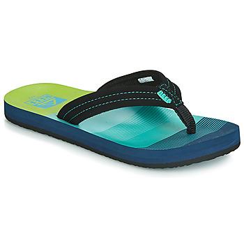 Topánky Chlapci Žabky Reef KIDS AHI Modrá / Zelená