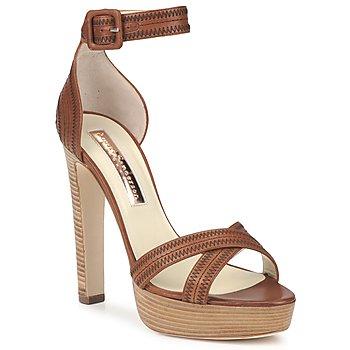 Topánky Ženy Sandále Rupert Sanderson KOOMELA Hnedá
