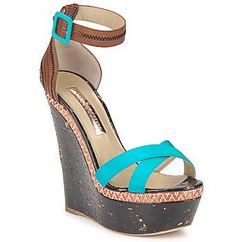 Topánky Ženy Sandále Rupert Sanderson NISSA Modrá