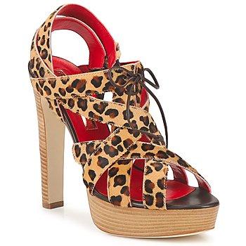 Topánky Ženy Sandále Rupert Sanderson BRISE Leopard