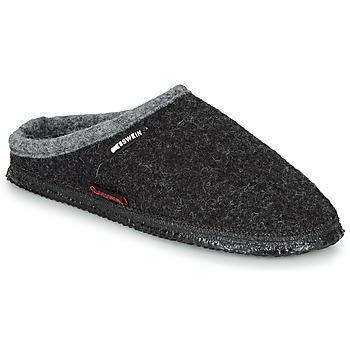 Topánky Papuče Giesswein DANNHEIM Antracitová