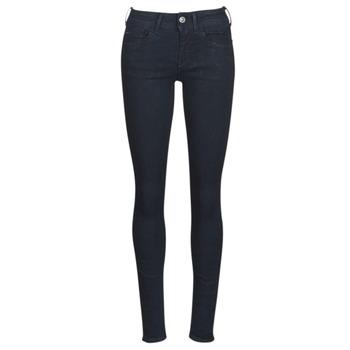 Oblečenie Ženy Džínsy Skinny G-Star Raw LYNN D-MID SUPER SKINNY Modrá / Rinsed