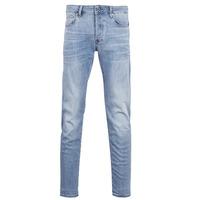 Oblečenie Muži Džínsy Slim G-Star Raw 3302 SLIM Modrá / Modrá indigová / Aged