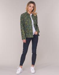 Oblečenie Ženy Rifle Skinny  G-Star Raw LYNN ZIP MID SKINNY ANKLE Modrá / Aged