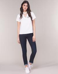Oblečenie Ženy Rovné džínsy G-Star Raw MIDGE SADDLE MID STRAIGHT Modrá / Aged