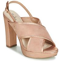 Topánky Ženy Sandále Menbur VILLALBA Ružová / Zlatá