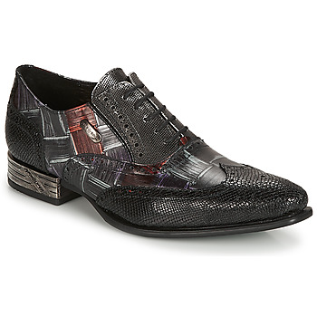 Topánky Muži Derbie New Rock SALSO Čierna