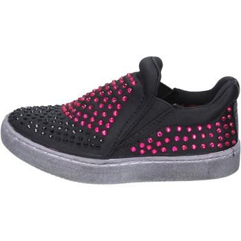 Topánky Dievčatá Slip-on Lulu BT332 Čierna