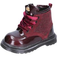 Topánky Dievčatá Čižmy do mesta Lulu stivaletti bordeaux pelle camoscio BT356 Rosso