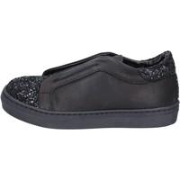 Topánky Dievčatá Slip-on Holalà BT357 Čierna