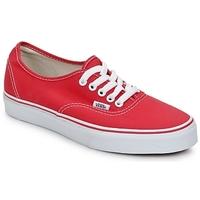 Topánky Nízke tenisky Vans AUTHENTIC Červená