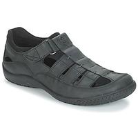Topánky Muži Sandále Panama Jack MERIDIAN Čierna