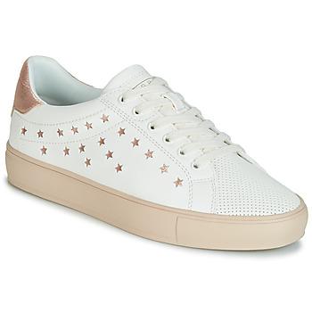 Topánky Ženy Nízke tenisky Esprit Colette Star LU Biela / Ružová / Zlatá