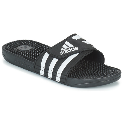 Topánky športové šľapky adidas Performance ADISSAGE Čierna / Biela