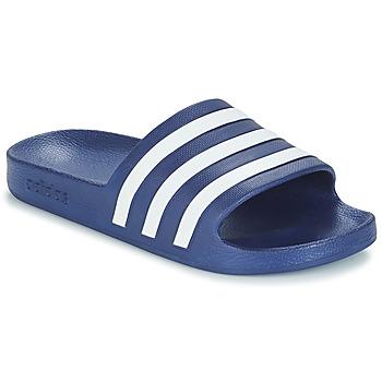 Topánky športové šľapky adidas Performance ADILETTE AQUA Modrá
