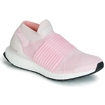 Topánky Ženy Bežecká a trailová obuv adidas Performance ULTRABOOST LACELESS Ružová