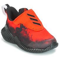 Topánky Chlapci Bežecká a trailová obuv adidas Performance FORTARUN SPIDER-MAN Červená / Čierna