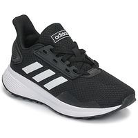 Topánky Deti Bežecká a trailová obuv adidas Performance DURAMO 9 K Čierna / Biela