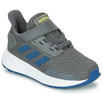 Topánky Chlapci Bežecká a trailová obuv adidas Performance DURAMO 9 I Šedá