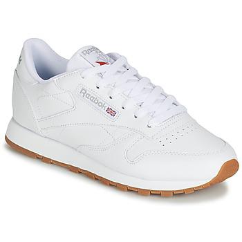 Topánky Ženy Nízke tenisky Reebok Classic CL LTHR Biela
